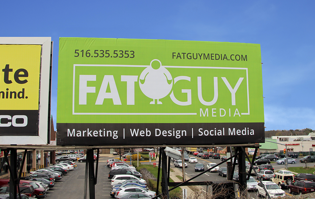 Products - Fat Guy Media Billboard in Mineola