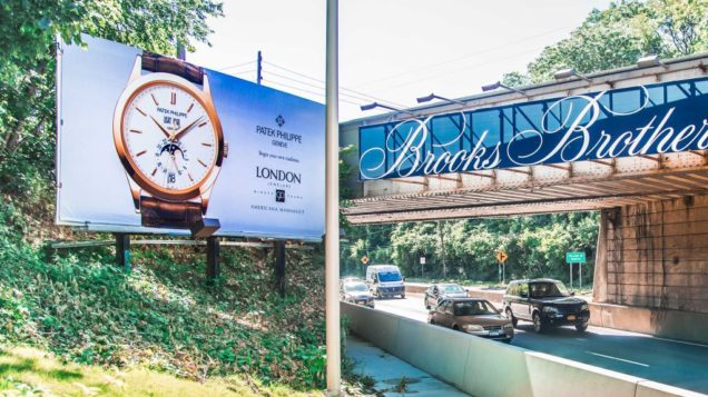 Nassau County Outdoor Advertising - Roslyn Road